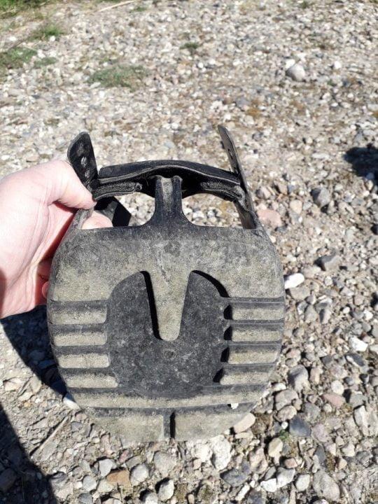 Scoot Boot set nedefra med mønster på sålen
